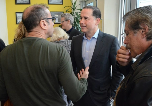 Tuesday Breakfast Club with Mayor Levine